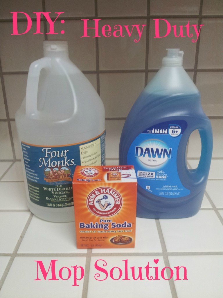 Make your own heavy duty floor cleaner