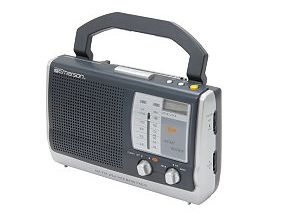 portable clock radio