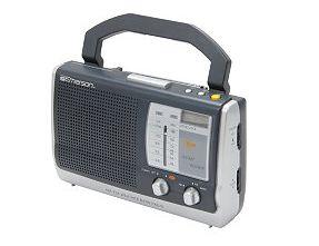 portable clock radio