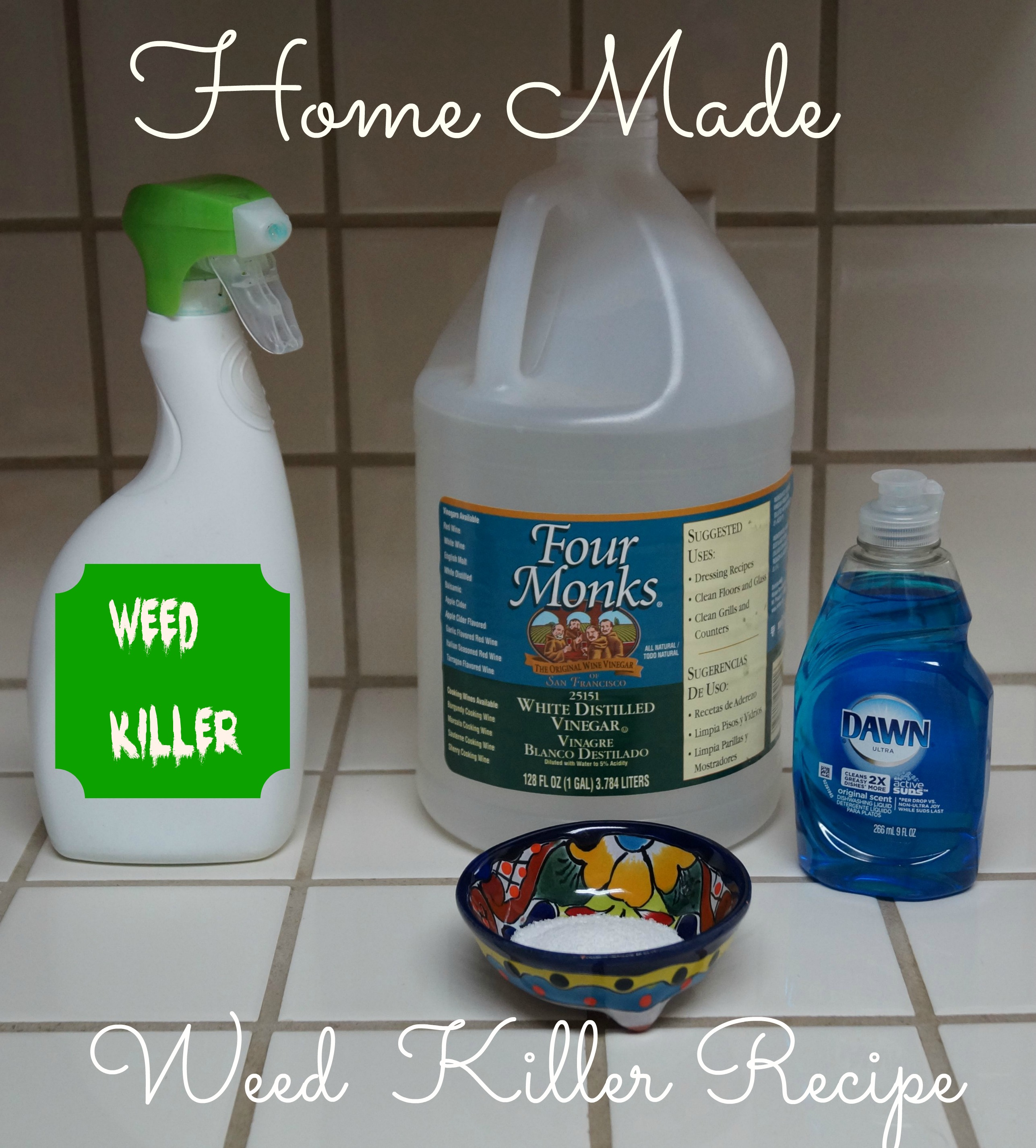 Home Made Weed Killer Recipe