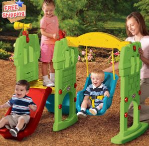 little tikes castle bright
