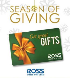 ross season of giving