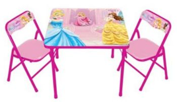 disney princess table