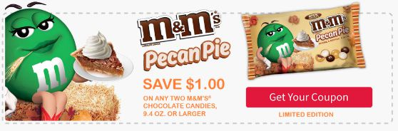 M&M's® Pecan Pie coupon image1