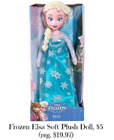 frozen elsa plush